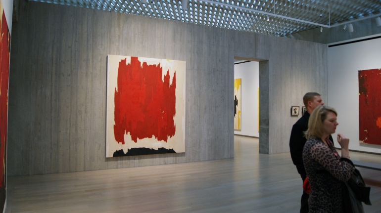 Clyfford Still interior