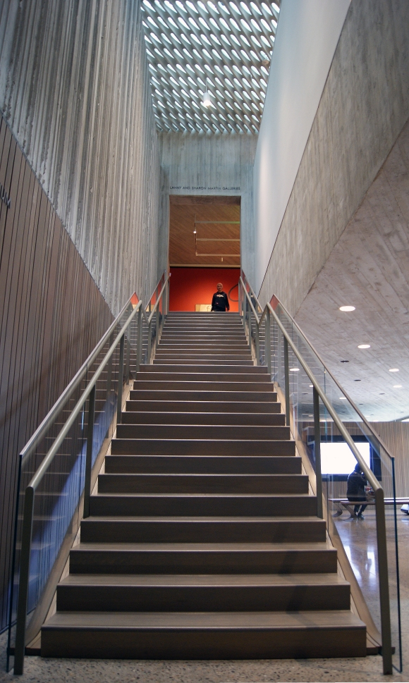 Clyfford Still Stairs