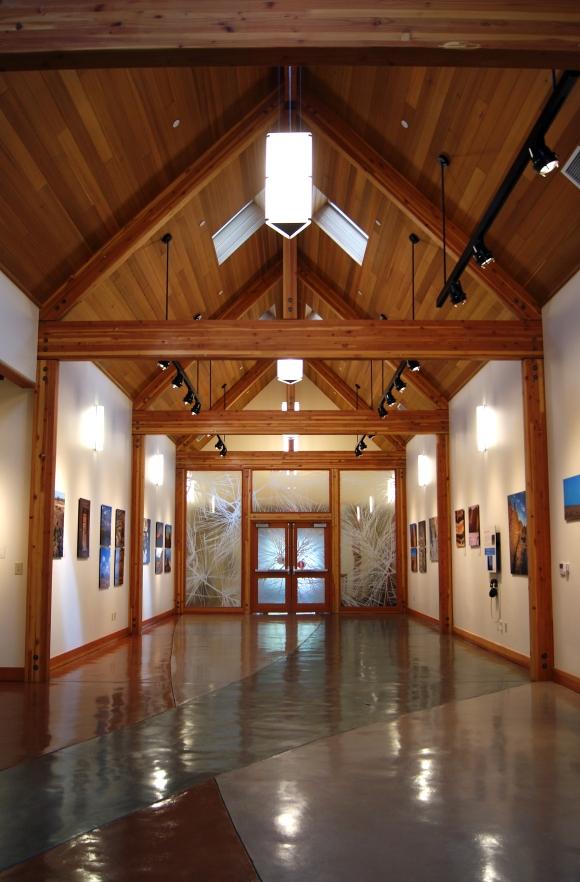 museum interior