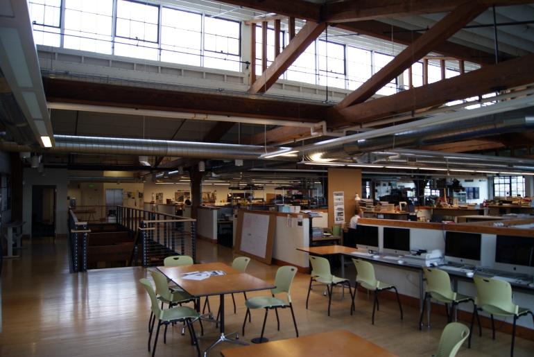U of O Portland studio