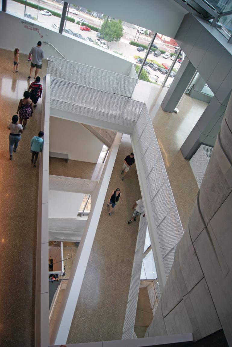 Perot Museum confusing 2