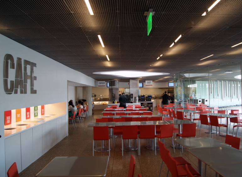 Perot Museum cafe