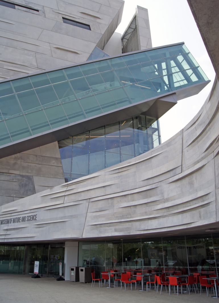 Perot Museum Entry
