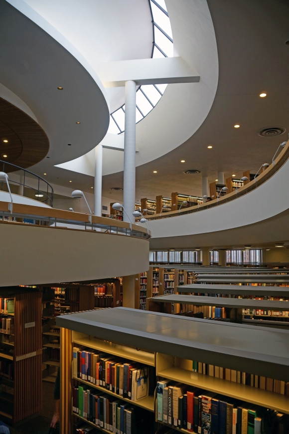 Mt Angel Library atrium 3
