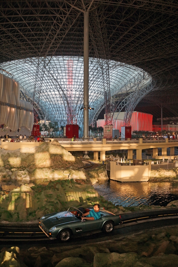 Ferrari World center atrium
