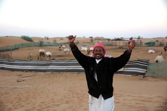 Dubai Camel Farmer