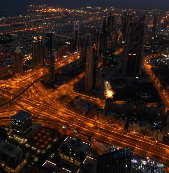 Burj Khalifa Sunrise 1