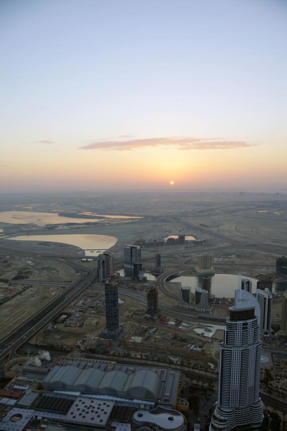 Burj Khalifa Sunrise 3