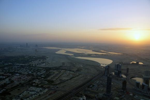 Burj Khalifa Sunrise 7
