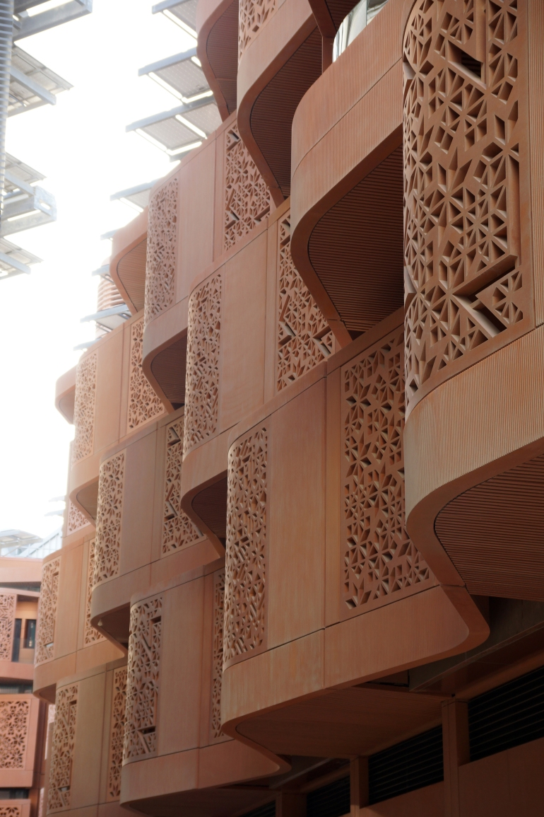 Masdar City Dorm Detail 1