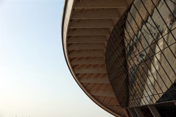 Masdar City Library Detail 2
