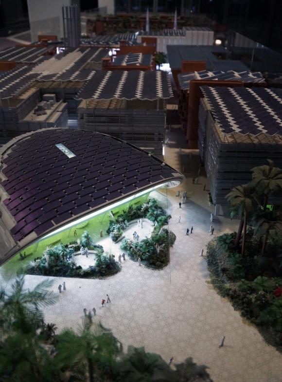 Masdar City Model