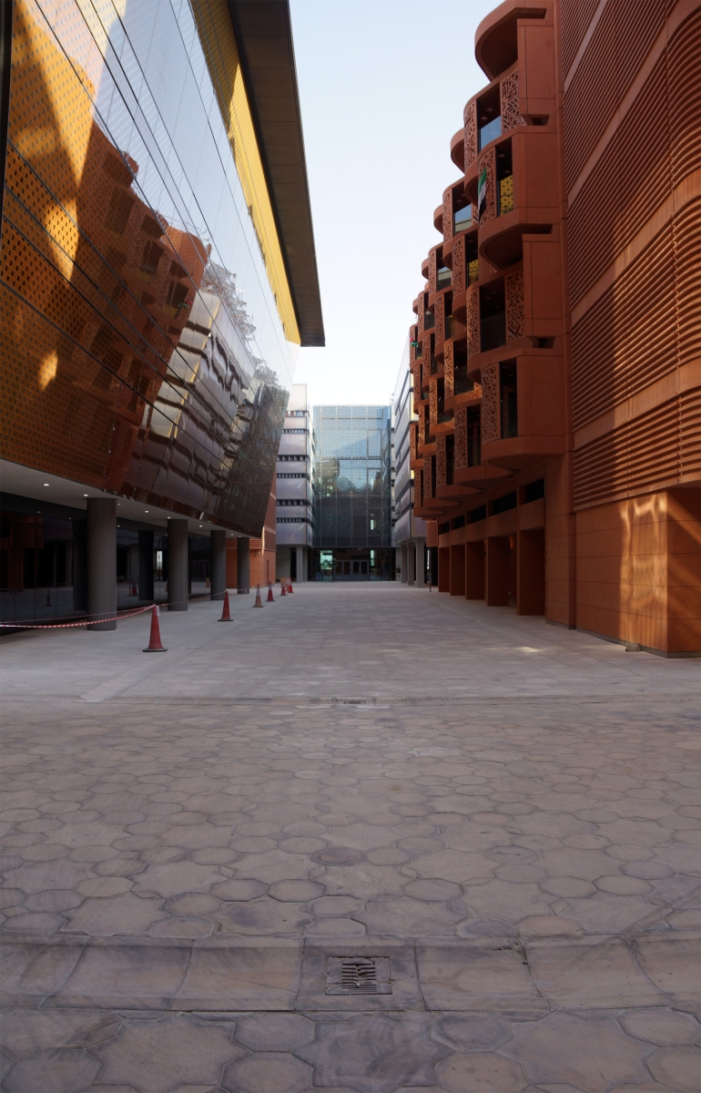 Masdar City Water Drain