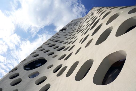O-14 Tower Facade Detail