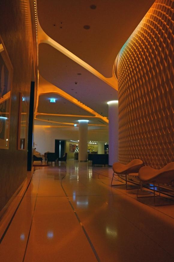 Yas Viceroy Hotel Hallway 2