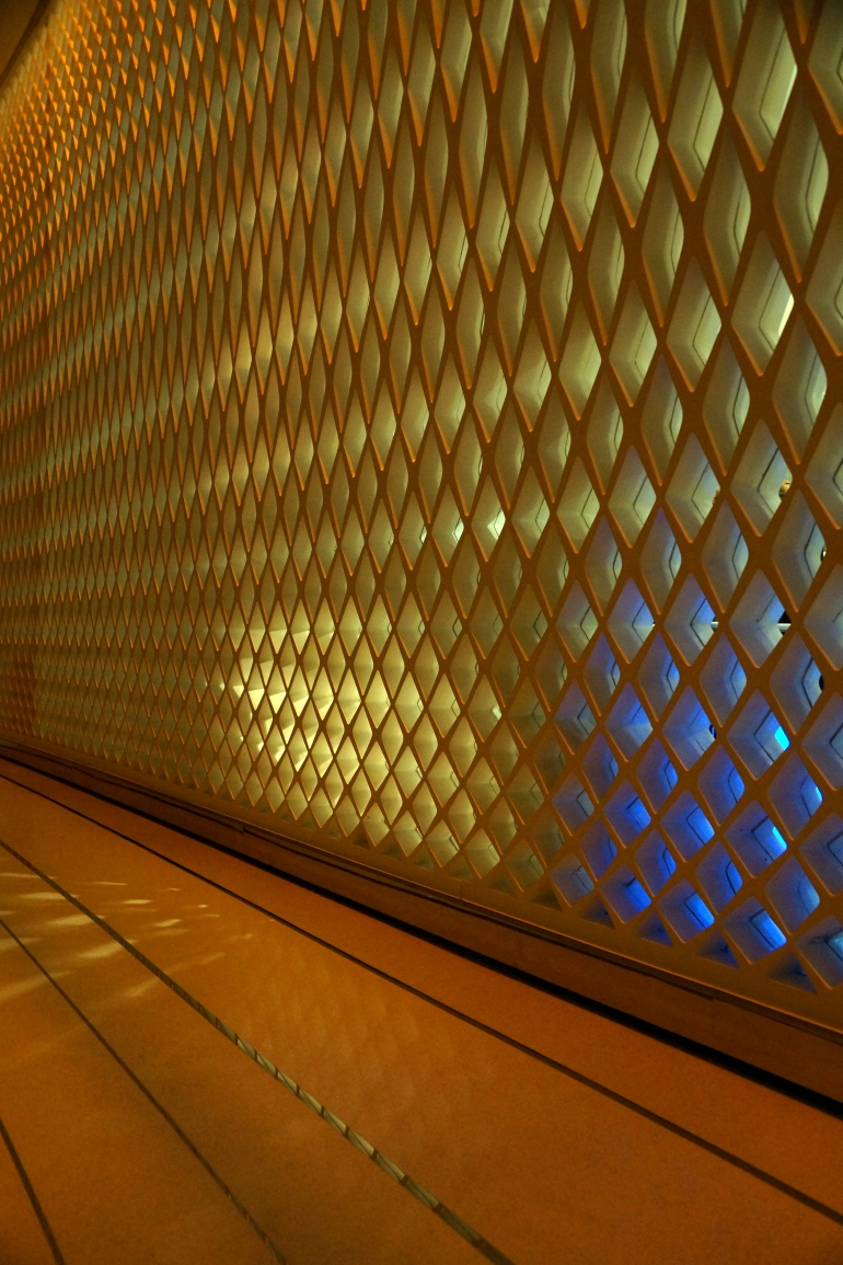 Yas Viceroy Hotel Hallway light detail