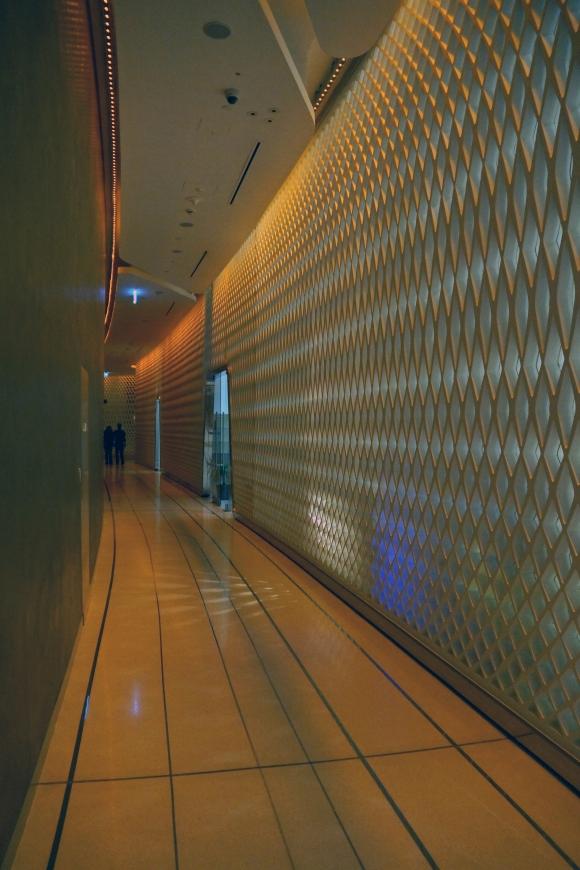 Yas Viceroy Hotel Interior Hallway