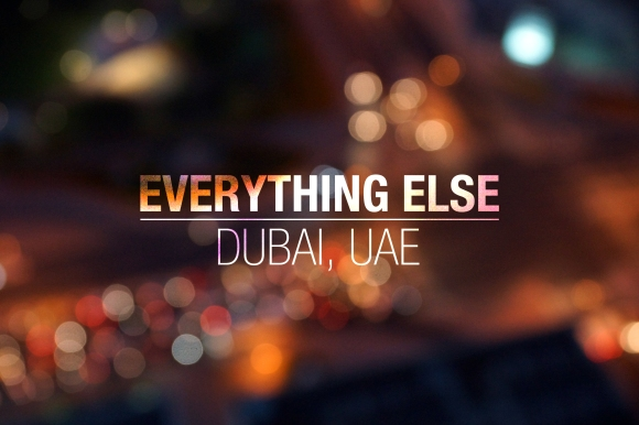 Everything Else_Dubai
