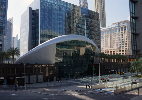 Funky building_Dubai, UAE
