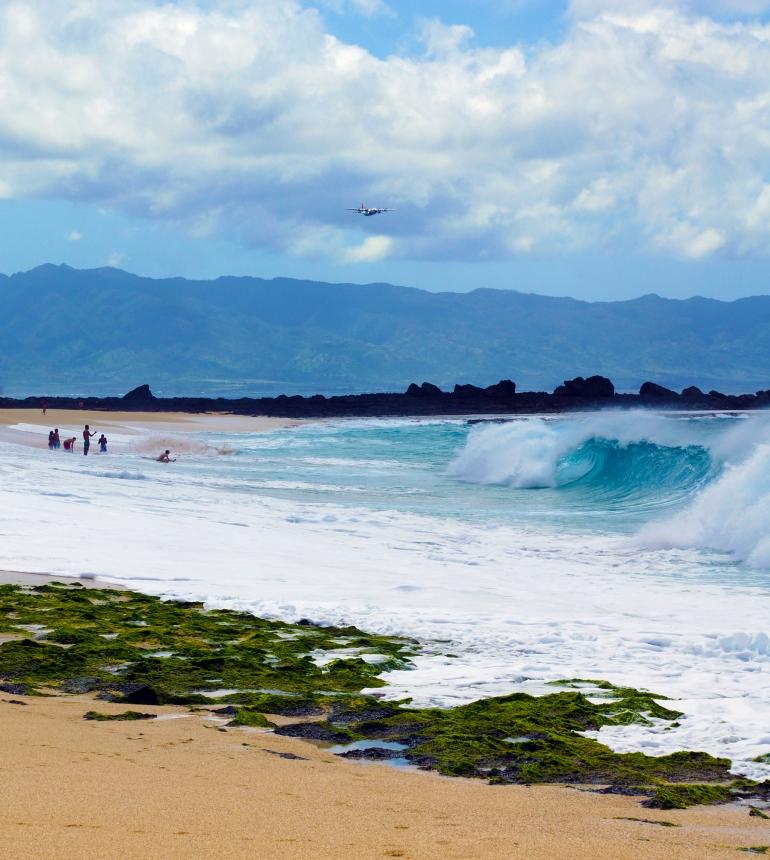 Hawaiian Vacation_Hawaiian Plane Flyby