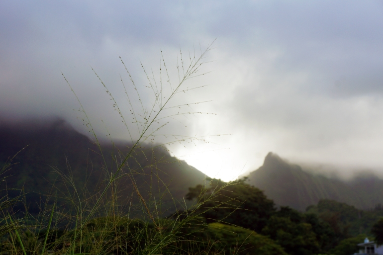 Hawaiian Vacation_Stormy Sky