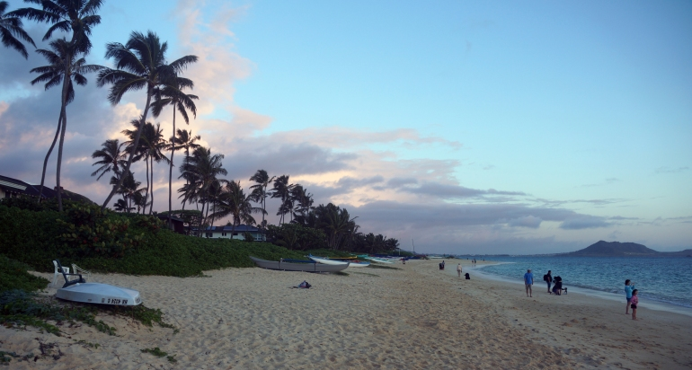 Hawaiian Vacation_Sunrise Beach