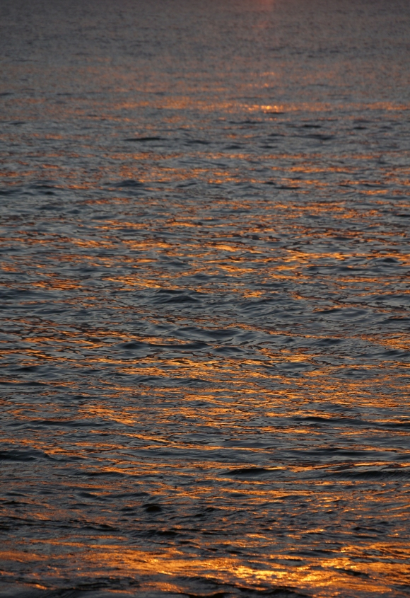 Hawaiian Vacation_Sunset waters