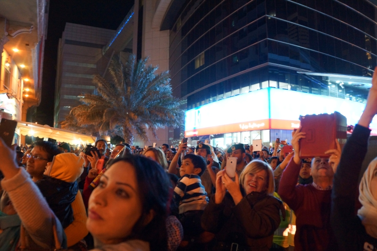 New Years in Dubai_Crowd