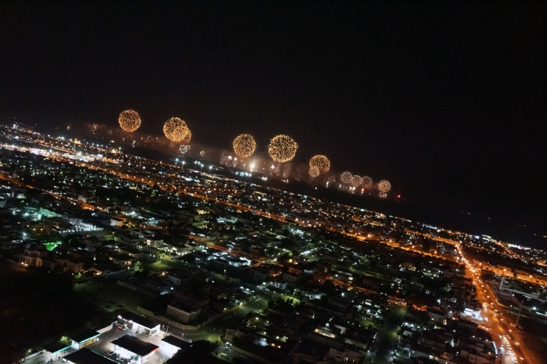 New Years in Dubai_the world 2