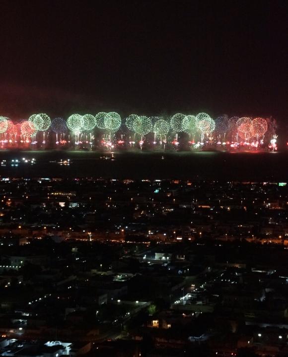 New Years in Dubai_the World