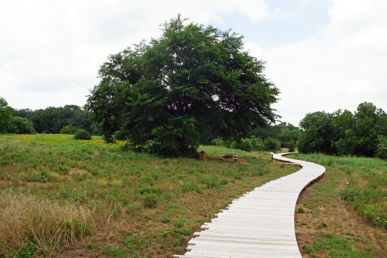 Elmer W Oliver Nature Park_Boardwalk 3