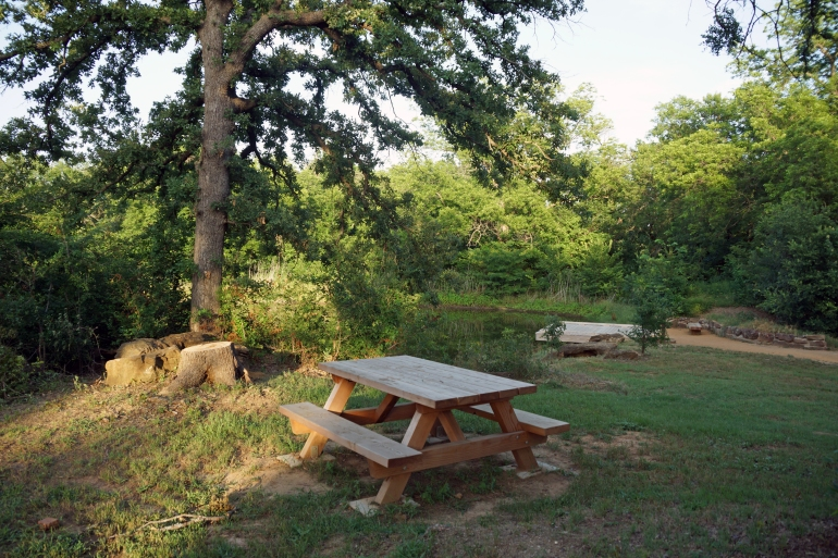 Elmer W Oliver Nature Park_Picnic Table