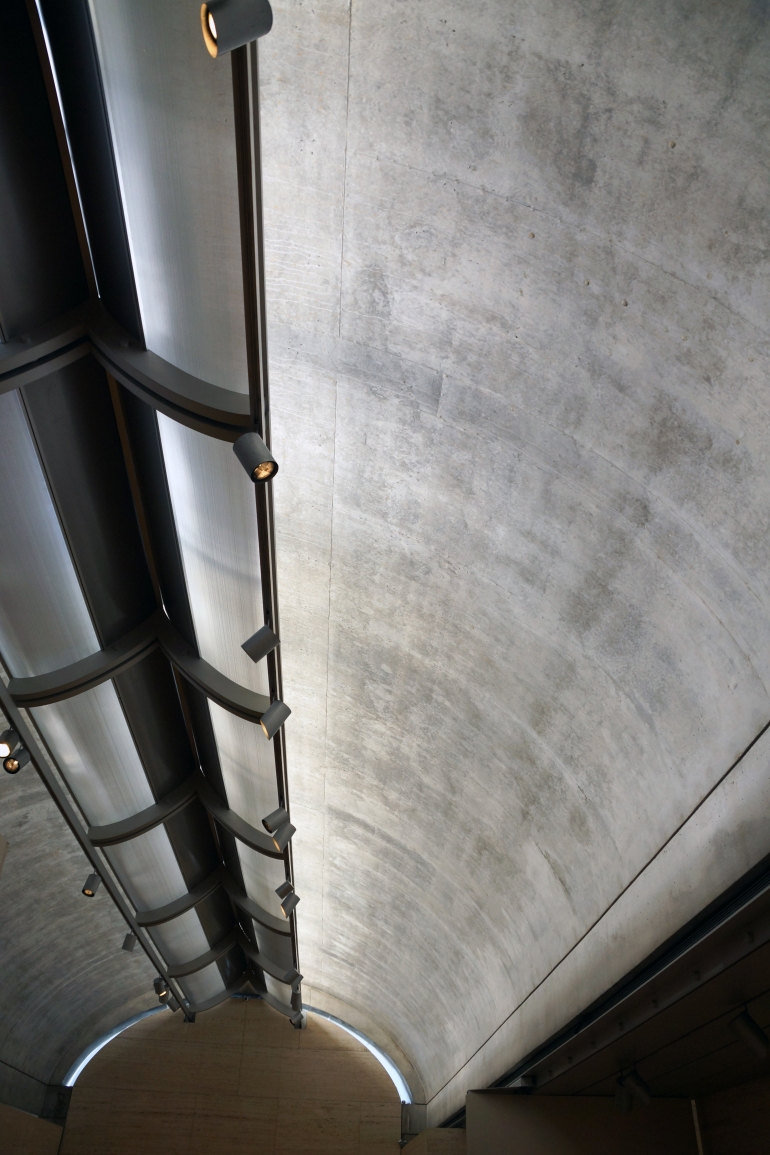 Kimbell Art Museum_Interior_Daylighting Detail