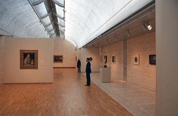 Kimbell Art Museum_Interior_Gallery 2