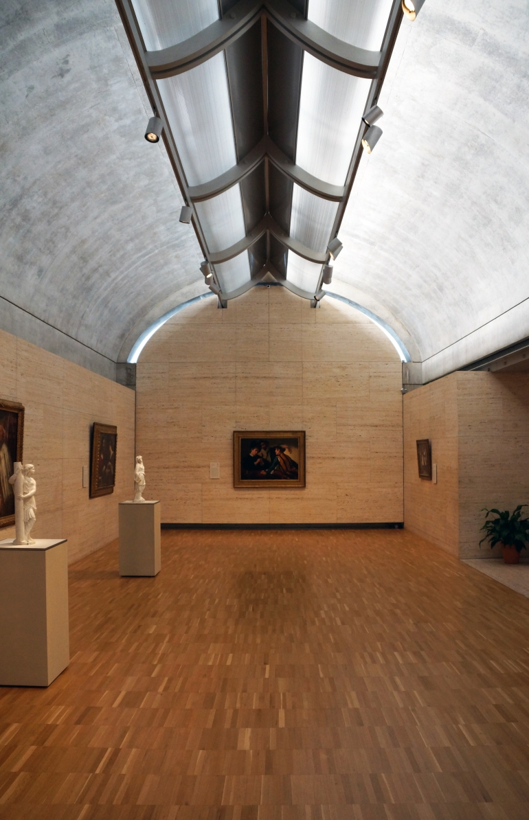 Kimbell Art Museum_Interior_Gallery 3