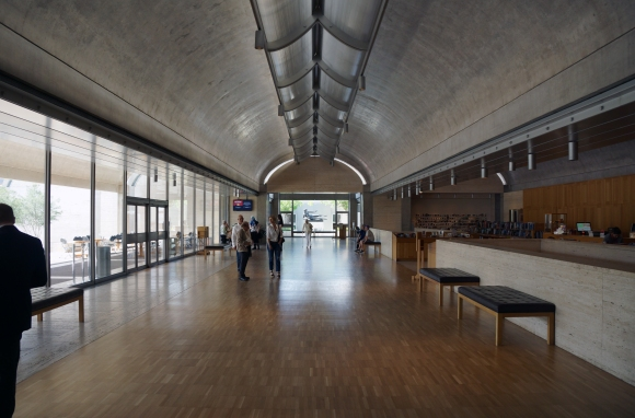 Kimbell Art Museum_Interior_Main Volume