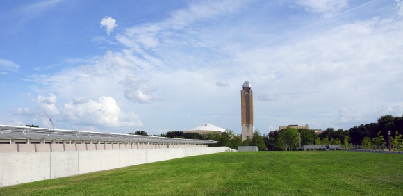 Kimbell Art Museum Addition_Green Roof