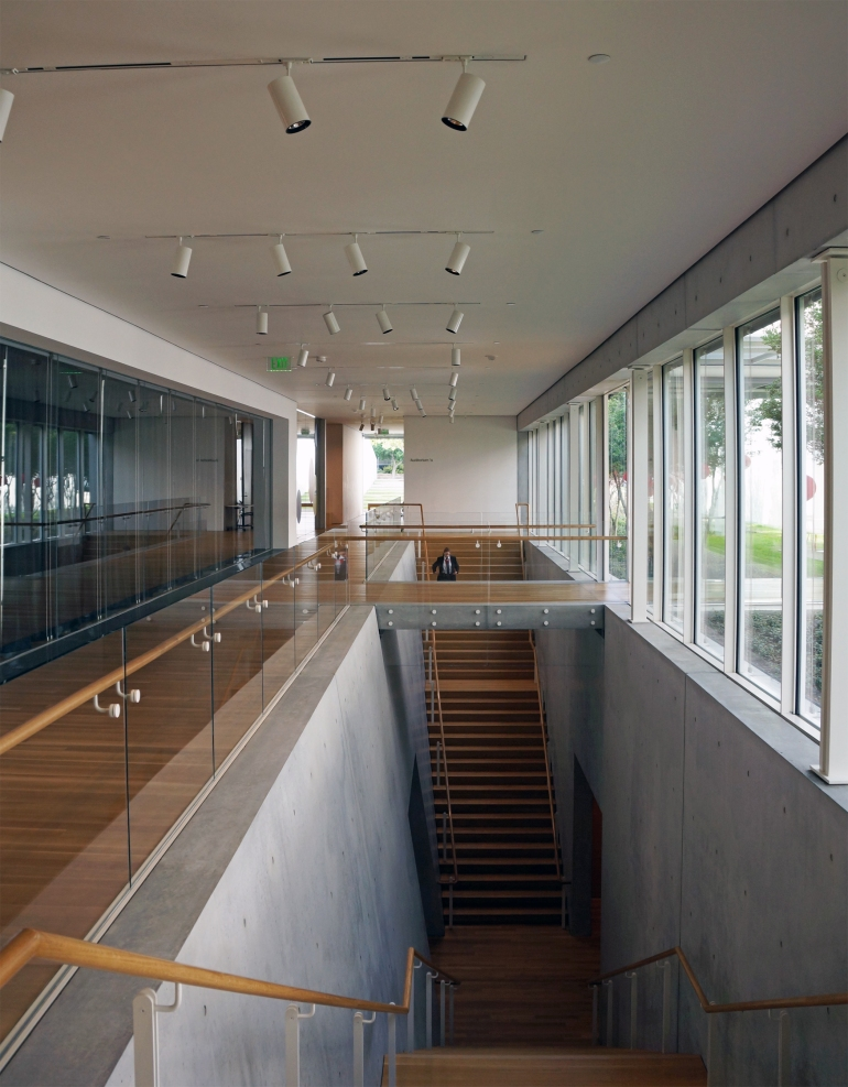 Kimbell Art Museum Addition_Stairs
