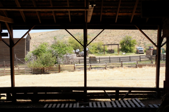 Imperial Stock Ranch_Barn Structure Silohuette