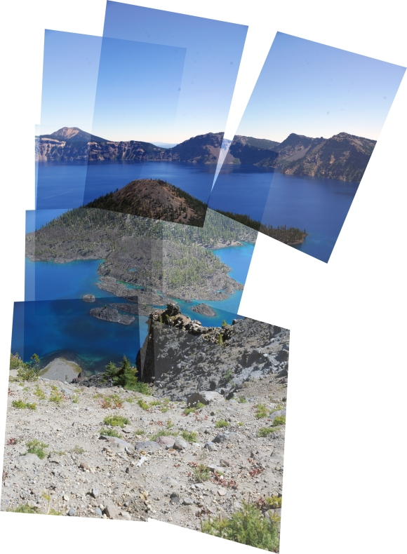 Manual Panorama_Crater Lake
