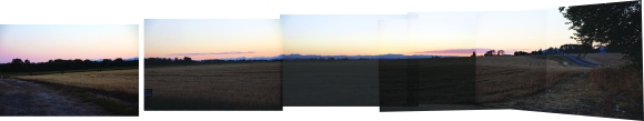 Manual Panorama_Just outside Portland