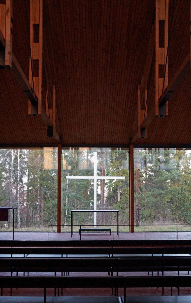 Aalto University_Chapel Interior