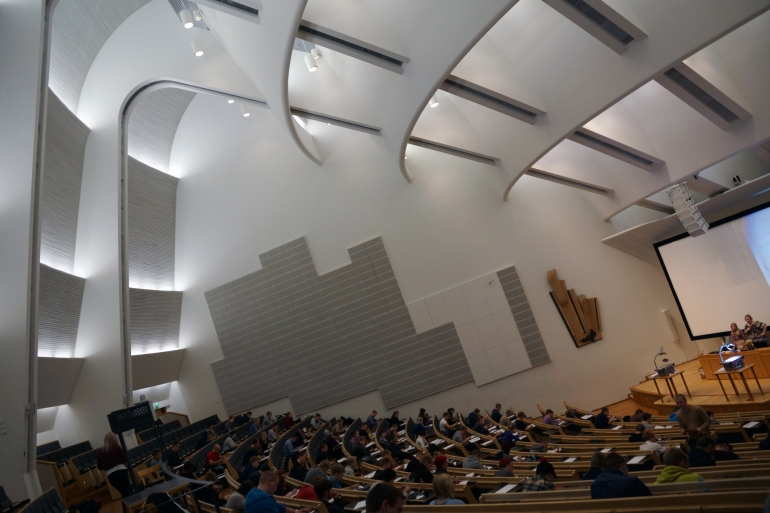 Aalto University_Lecture Hall Interior