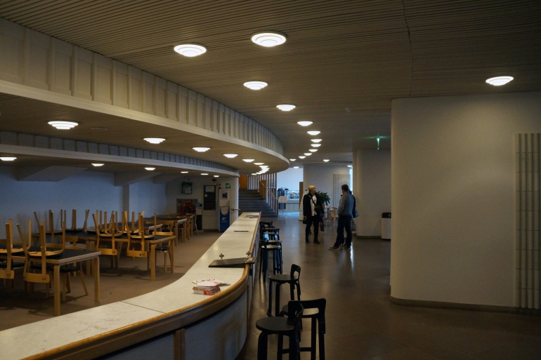 Aalto University_Lecture Hall Lobby