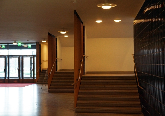 Aalto University_Lecture Hall Stairs