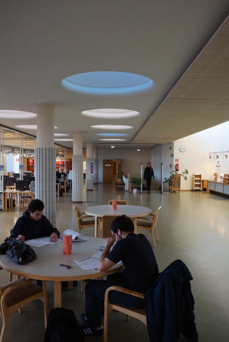Aalto University_Library Daylighting 3