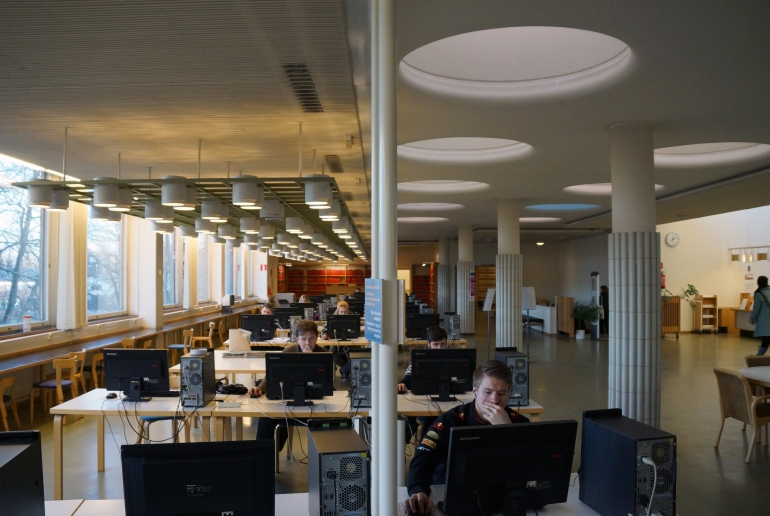 Aalto University_Library Daylighting 4