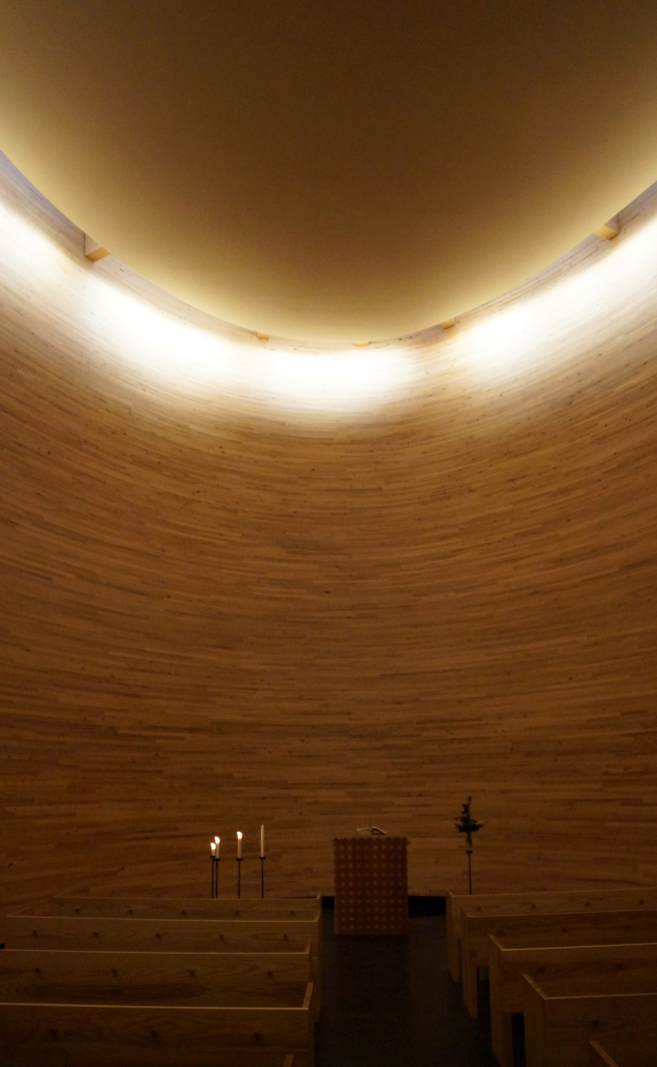 Quiet Enough To Hear A Pin Drop Chapel Of Silence Interior