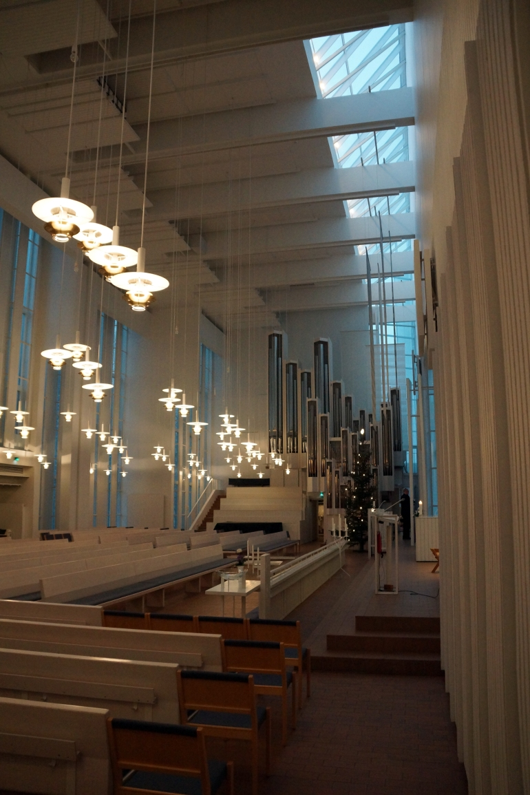 Myyrmaki Church Interior