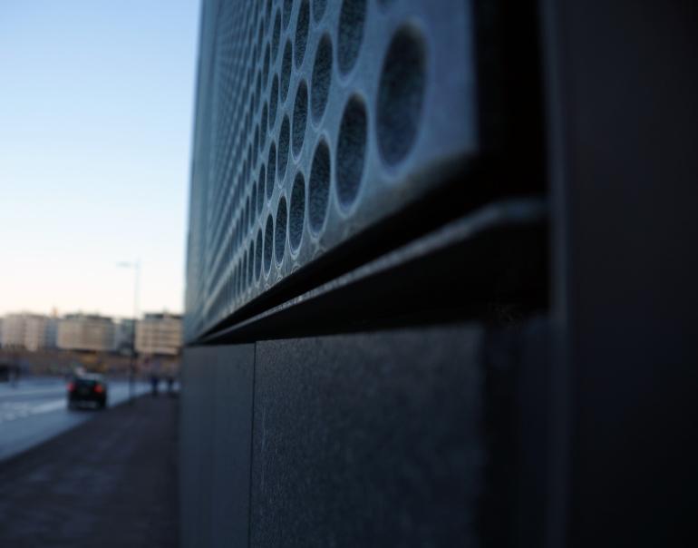 Helsinki Music Centre_Facade Material Detail